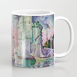 Paul Signac - Entree du port de la Rochelle Coffee Mug