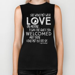 6 of Crows Book Quote design Biker Tank