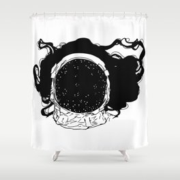 .Tell me about the universe.  Shower Curtain