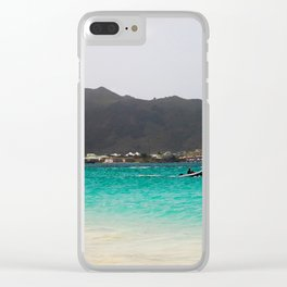 St. Martin Clear iPhone Case