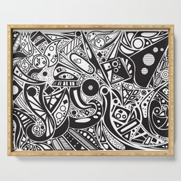 #doodles Serving Tray