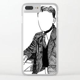F. Scott Fitzgerald Clear iPhone Case