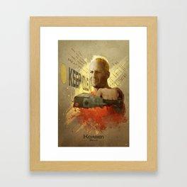 Korben Dallas Framed Art Print