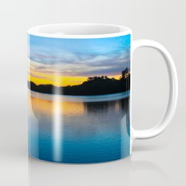 Sunset at Stumpy Lake in Virginia Beach Coffee Mug