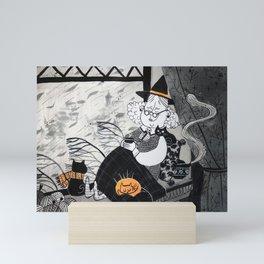 Cozy time - Art Prints- Witches art - Nursery Print - Nursery Prints - Nursery Art - Baby Room Wall Mini Art Print