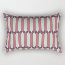 Panes - Mauve Rectangular Pillow