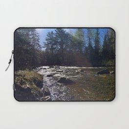 Spring on the Carrabassett River (2) Laptop Sleeve