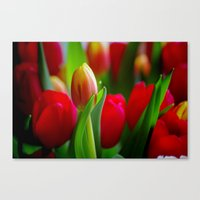 easter Canvas Prints featuring Easter by Herzensdinge