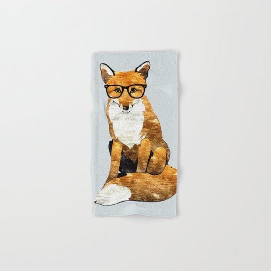 Foxy #society6 #animallover #buyart Hand & Bath Towel