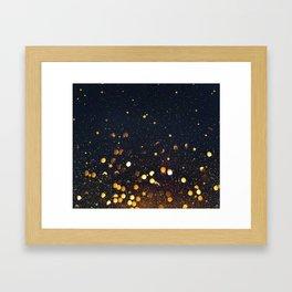 Light Touches Framed Art Print
