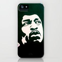 Psychedelic Jimi Hendrix iPhone Case