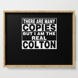 I Am Colton Funny Personal Personalized Fun Serving Tray