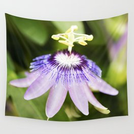 Purple Haze Perfume Passion Flower Wall Tapestry