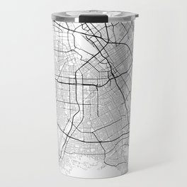 Minimal City Maps - Map Of San Jose, California, United States Travel Mug