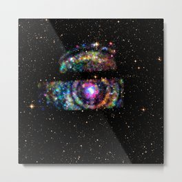 The Universe Keeps Winking At Me Metal Print