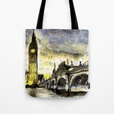 Westminster Van gogh Tote Bag