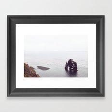 Hvítserkur, Iceland Framed Art Print