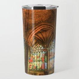 Winter Sun Cathedral Travel Mug