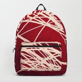 Linear Flow-Red Complex Backpack