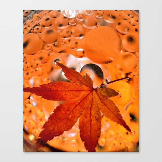 Maple Leave Canvas Print