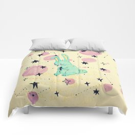 little hare - chinese horoscope Comforters