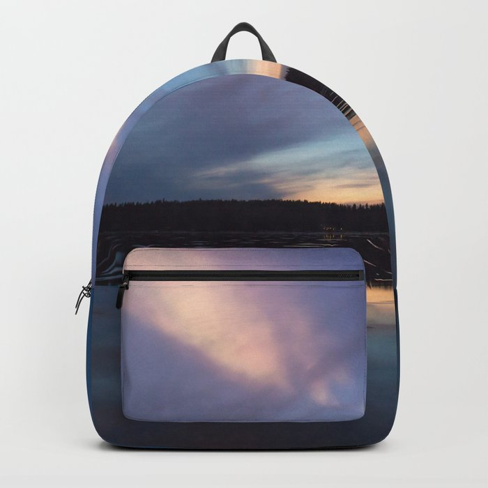 Just before the night arrives Backpack
