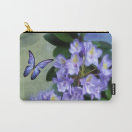 Lavender Rhododendron Carry-All Pouch