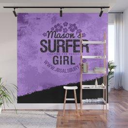 Mason's Surfer Girl Wall Mural