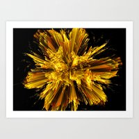 big bang Art Prints featuring Big Bang by Art-Motiva