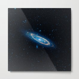 Our Neighboring Galaxy Andromeda Print Metal Print