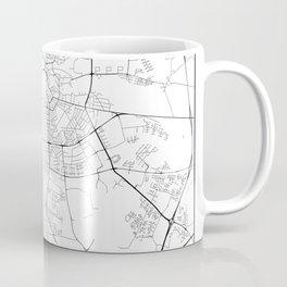 Minimal City Maps - Map Of Odense, Denmark. Coffee Mug
