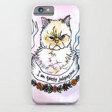 Judging You - a cat's life iPhone 6 Slim Case