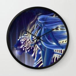 Tigress Walker Wall Clock