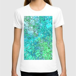 Technology Psychedelic Cold T-shirt