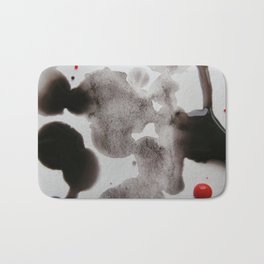 Paint Blots 5 Bath Mat