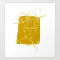 Gibson Girl Art Print