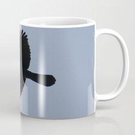 Jackdaw In Flight Coffee Mug