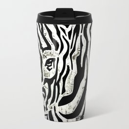 Inconspicuous Zebra Travel Mug