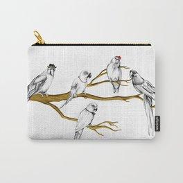 Parrots Carry-All Pouch