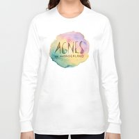 agnes Long Sleeve T-shirts featuring Agnes in Wonderland by Agnes in Wonderland