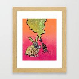 The Cutest Apocalypse Ever!!! Framed Art Print