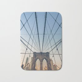 Brooklyn Bridge New York City Bath Mat