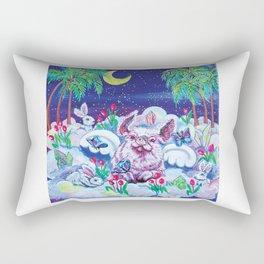 Piggie heaven Rectangular Pillow
