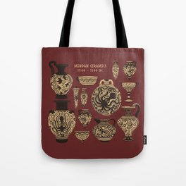 Late Minoan Ceramics - Ancient Pottery Series Tote Bag
