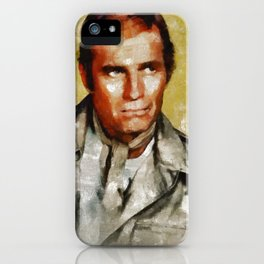 Charlton Heston by MB iPhone Case