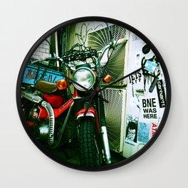 harajuku bike Wall Clock