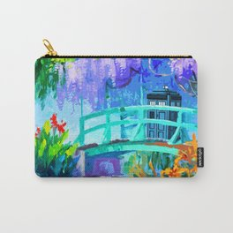 Tardis Art And The Bridge Carry-All Pouch