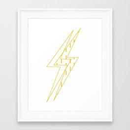 BLINDED LIGHT Framed Art Print