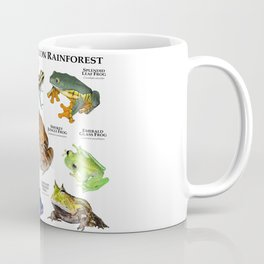 Frogs of the Amazon Rainforest Coffee Mug