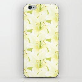Wedding Lily iPhone Skin